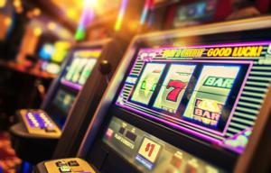 Spielautomat in Spielothek